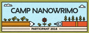 Andrea Brame | Camp NaNoWriMo, April 2016.